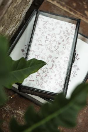 IB LAURSEN Papierové obrúsky Faded Rose Blossoms – 16 ks