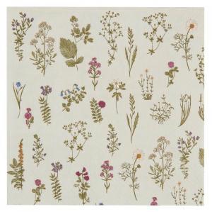 IB LAURSEN Papierové obrúsky Flora