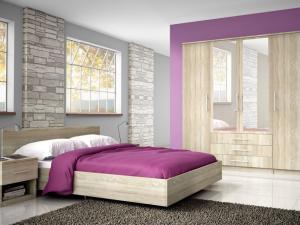 ID Manželská posteľ Holly 200x160