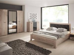 ID Manželská posteľ Nesia 200x160