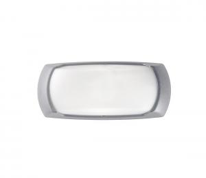 Ideal Lux - Vonkajšie nástenné svietidlo 1xE27/23W/230V šedá
