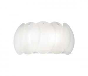 Ideal Lux - Nástenné svietidlo 2xE27/60W/230V biela