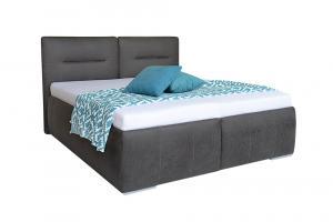 ILARIA vysoká čalúnená posteľ s úložným priestorom