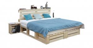 INDUSTRY paletová posteľ