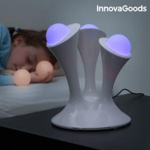 InnovaGoods Viacfarebná fluorescenčná lampa InnovaGoods Home LED