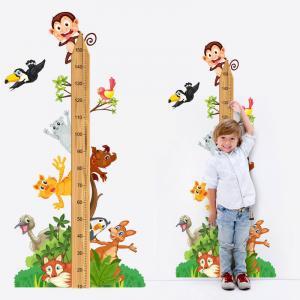 INSPIO Nálepka - Meter zvieratká zo ZOO (150cm)