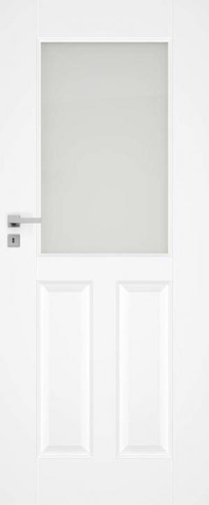 Interiérové dvere Naturel Nestra pravé 80 cm biele NESTRA280P