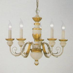 Interierové rustikálne svietidlo IDEAL LUX Firenze SP5  012865