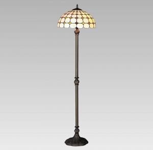 Interierové rustikálne svietidlo PREZENT TIFFANY hnedá E27 144