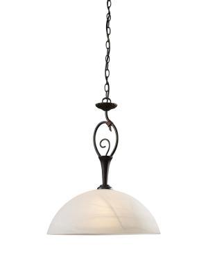 Interierové rustikálne svietidlo REDO CALAIS závesná E27 02-295