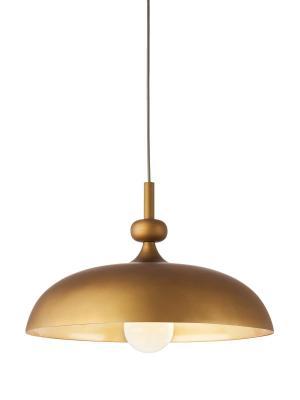 Interierové rustikálne svietidlo REDO CAPITOL mosadz    01-444