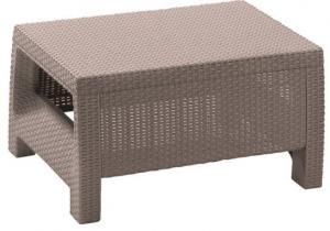 InternetovaZahrada - Záhradný stôl MODERN - cappuccino