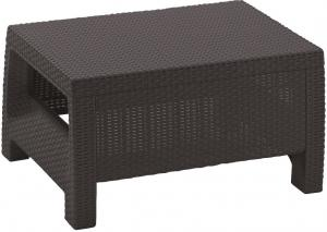 InternetovaZahrada - Záhradný stôl MODERN - hnedá