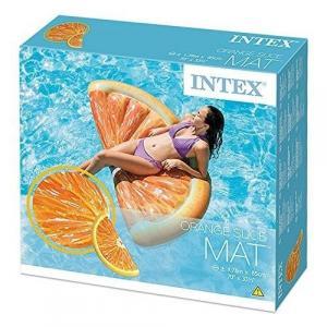 Intex Nafukovacie lehátko plátok pomaranča 58763