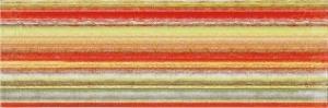 Inzert 60x20 Rako Tendence WITVE006 červeno-zelený