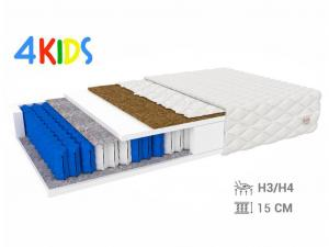 Jaamatrac Detský taštičkový matrac HUNT 160x80