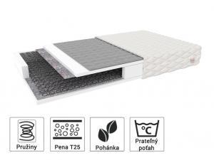 Jaamatrac Pohánkový matrac Bambino Normal 160x80