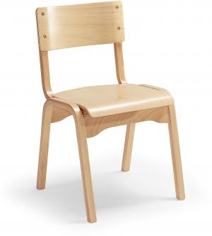 Jedálenská stolička Charlotte, buková dyha