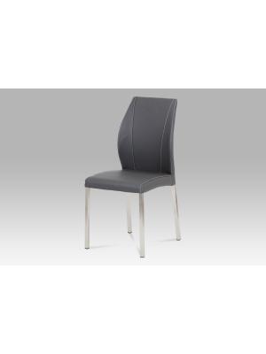 Jedálenská stolička Claude (súprava 4 ks), sivá