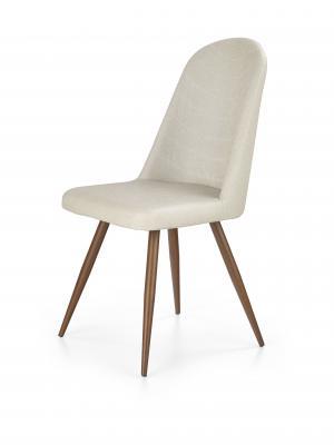 Jedálenská stolička - Halmar - K214 (tmavokrémová + čerešňa antická III). Sme autorizovaný predajca Halmar.