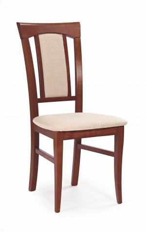 Jedálenská stolička - Halmar - Konrad (čerešňa antická II + béžová). Sme autorizovaný predajca Halmar.
