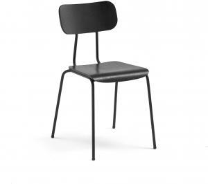 Jedálenská stolička Reno, čierny jaseň