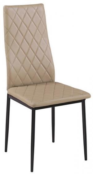 Jedálenská stolička Rimini, béžová ekokoža