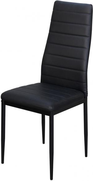 Jedálenská stolička SIGMA čierna