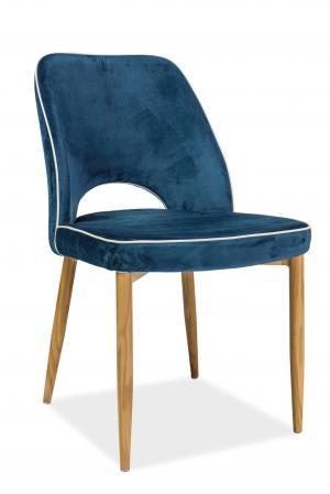 Jedálenská stolička - Signal - Verdi (modrá). Doprava ZDARMA. Sme autorizovaný predajca Signal.