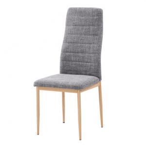 Jedálenská stolička - Tempo Kondela - Coleta nova (svetlosivá + buk). Akcia -11%. Sme autorizovaný predajca Tempo-Kondela.