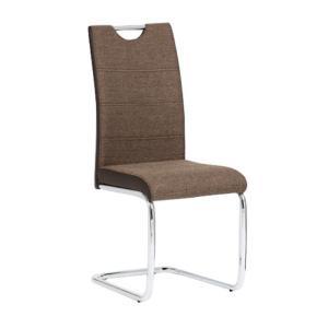 Jedálenská stolička Ive (hnedá)