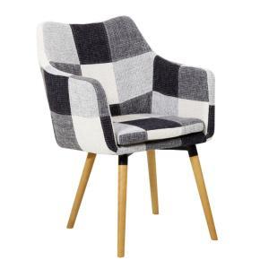Jedálenská stolička - Tempo Kondela - Landor (čierno biely patchwork). Sme autorizovaný predajca Tempo-Kondela.