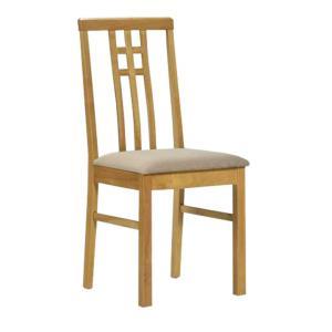Jedálenská stolička - Tempo Kondela - Silas (dub sonoma + krémová). Sme autorizovaný predajca Tempo-Kondela.