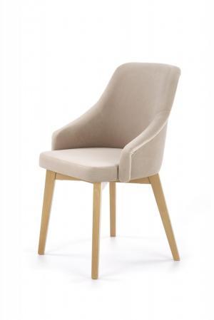 Jedálenská stolička TOLEDO 2 HALMAR Béžová