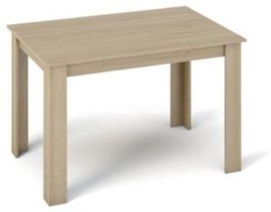 Jedálenský stôl 120x80 KRAZ dub sonoma Tempo Kondela