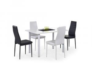 Jedálenský stôl ADONIS Halmar Biela