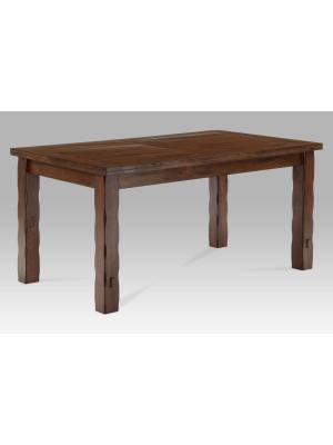 Jedálenský stôl Eduard, 160 cm, masív orech