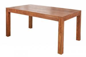 Jedálenský stôl Gani 140x90 indický masív palisander - Svetlomedová
