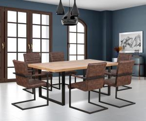 Jedálenský stôl - Halmar - Torres (pre 6 osôb). Sme autorizovaný predajca Halmar.