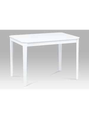 Jedálenský stôl Lada, 110 cm, biela