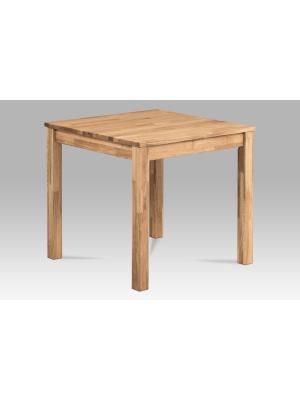 Jedálenský stôl Marian, 80 cm, masív dub