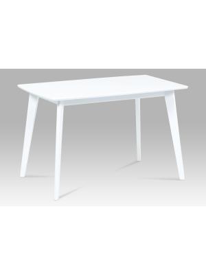 Jedálenský stôl Martha, 120 cm, biela