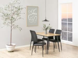 Jedálenský stôl Nayeli 120 cm divoký dub