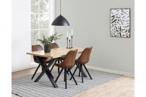 Jedálenský stôl Niki 160 cm divoký dub
