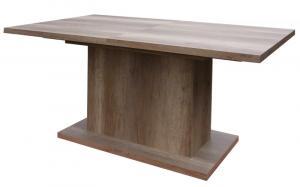 Jedálenský stôl Paulo 160x90 cm, dub canyon, rozkladací