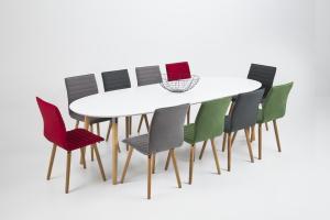 Jedálenský stôl rozkladací Nazia 170-270cm dub