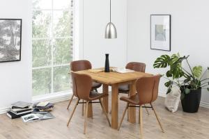 Jedálenský stôl rozkladací Nehama 45/90 cm dub