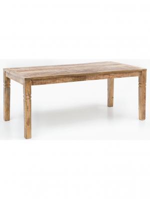 Jedálenský stôl Rustica, 120 cm, mangové drevo