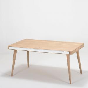 Jedálenský stôl z dubového dreva Gazzda Ena Two, 160×90×75 cm