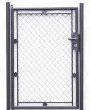 Jednokrídlová bránka Klasik antracit KLASIK| V: 100cm